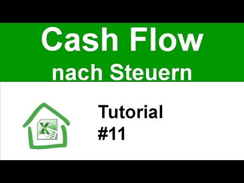 tutorial 11 cashflow nach steuern berechnen cash flow wie gerald h rhan youtube. Black Bedroom Furniture Sets. Home Design Ideas