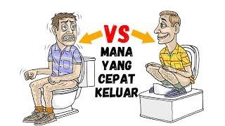 WC Duduk vs WC Jongkok Baik menggunakan  yang mana ? Dari segi kesehatan begini #DoctorAW #12