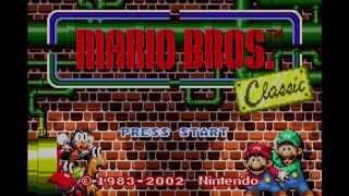 Super Mario Advance 2: Super Mario World - Mario Bros. Classic (GBA - Wii U VC)