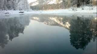 Голубые озера. 06.01.2013 г. Горный Алтай.(, 2013-01-12T07:39:56.000Z)