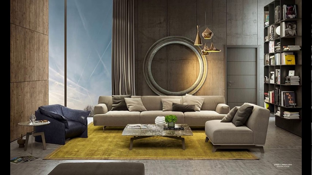 Modern Interior Design  Living Room Interior Design 2017