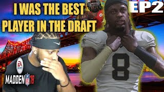 Jerrell WAS THE BEST PLAYER IN THE DRAFT? MADDEN 18 CAREER MODE QB EP 2