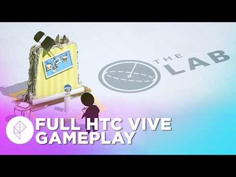 The Lab Full Gameplay on the HTC Vive