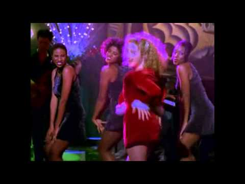 "Ally McBeal version of ""i saw mommy kissing santa claus"""
