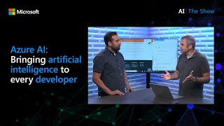 Azure AI: Bringing artificial intelligence to every developer