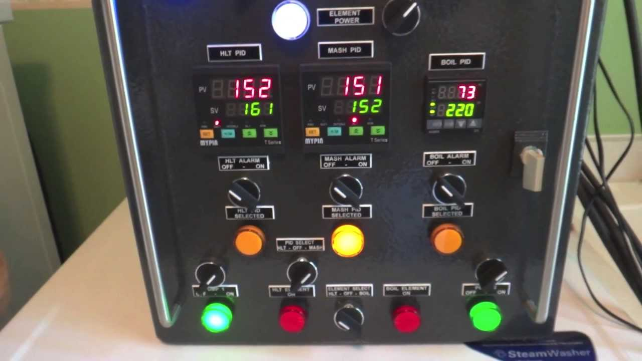 electric brewery control panel for sale  | youtube.com
