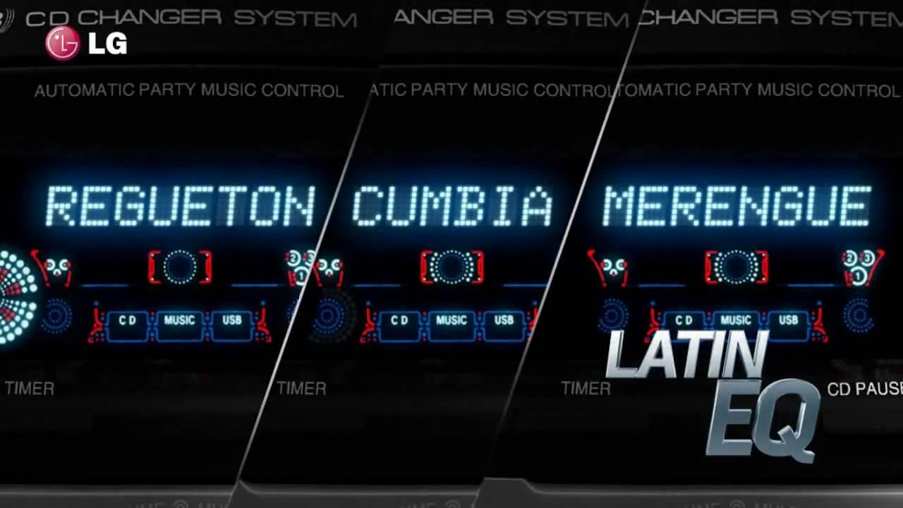 Nuevo equipo de sonido lg x metal mcv 905 youtube - Muebles para equipo de sonido ...