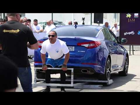 Атлеты и борцы в Баку - Caspian Power Show