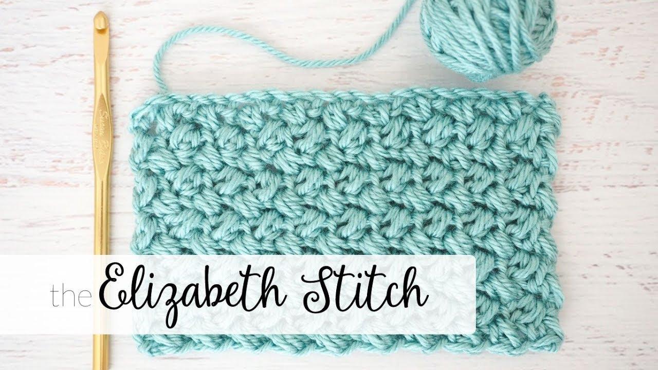 The Elizabeth Stitch - Easy Crochet Tutorial - Dabbles & Babbles