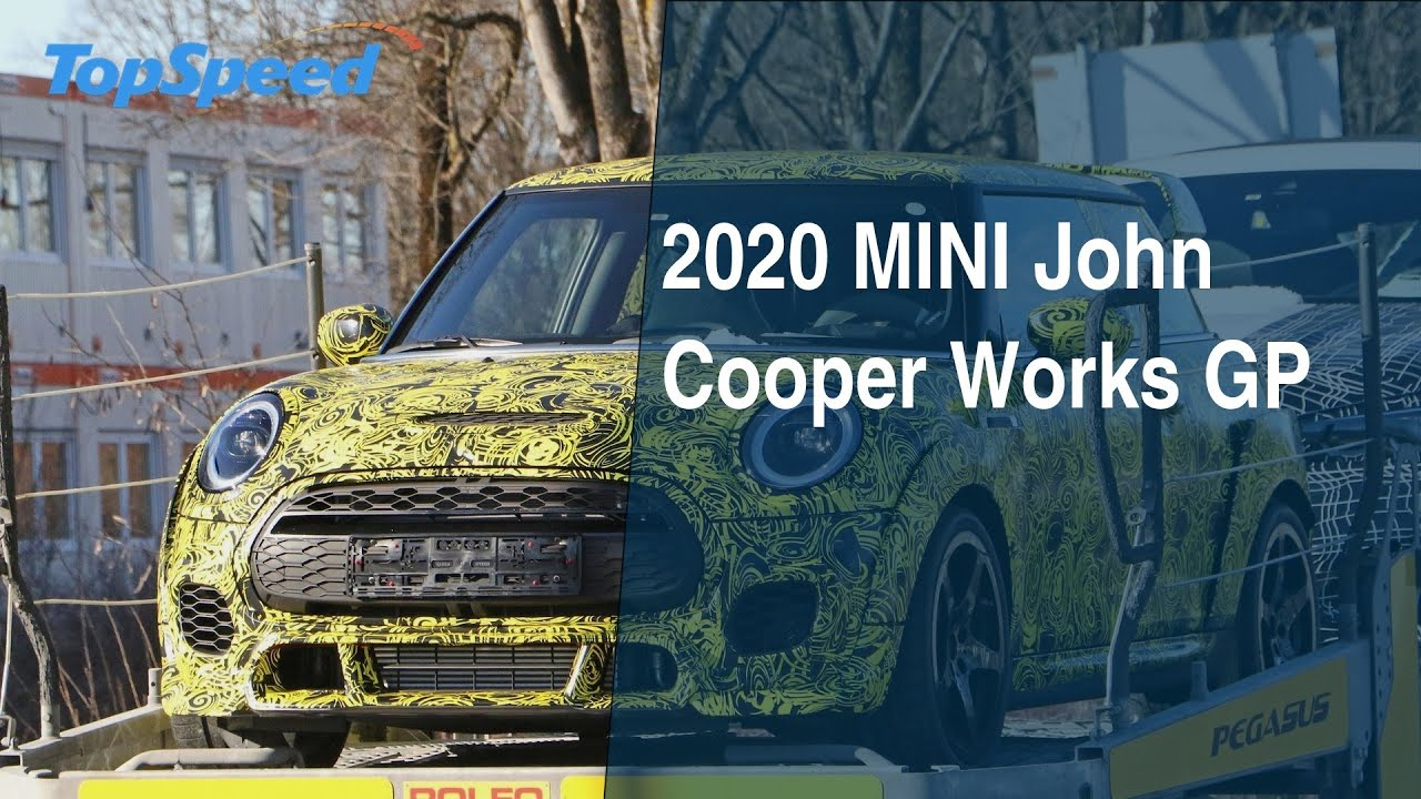 2020 Mini John Cooper Works Gp Youtube