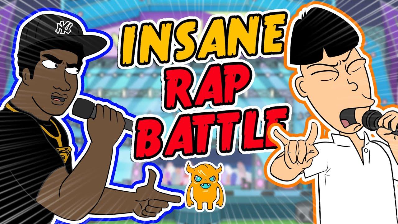 Insane Animated Rap Battle Ownage Pranks Youtube