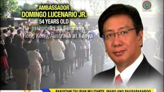 "Remembering Amb. Domingo ""Doy"" Lucenario, Jr."