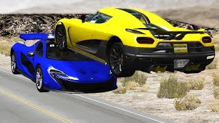 Car Near Miss Compilation #2 - BEAMNG DRIVE
