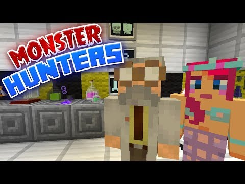 PROFESSOR BEANS! | Monster Hunters Ep.1 | Minecraft Roleplay thumbnail