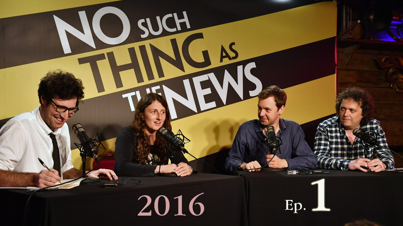 Comedy news no such thing as the news episode 1 youtube for No such thing as a fish