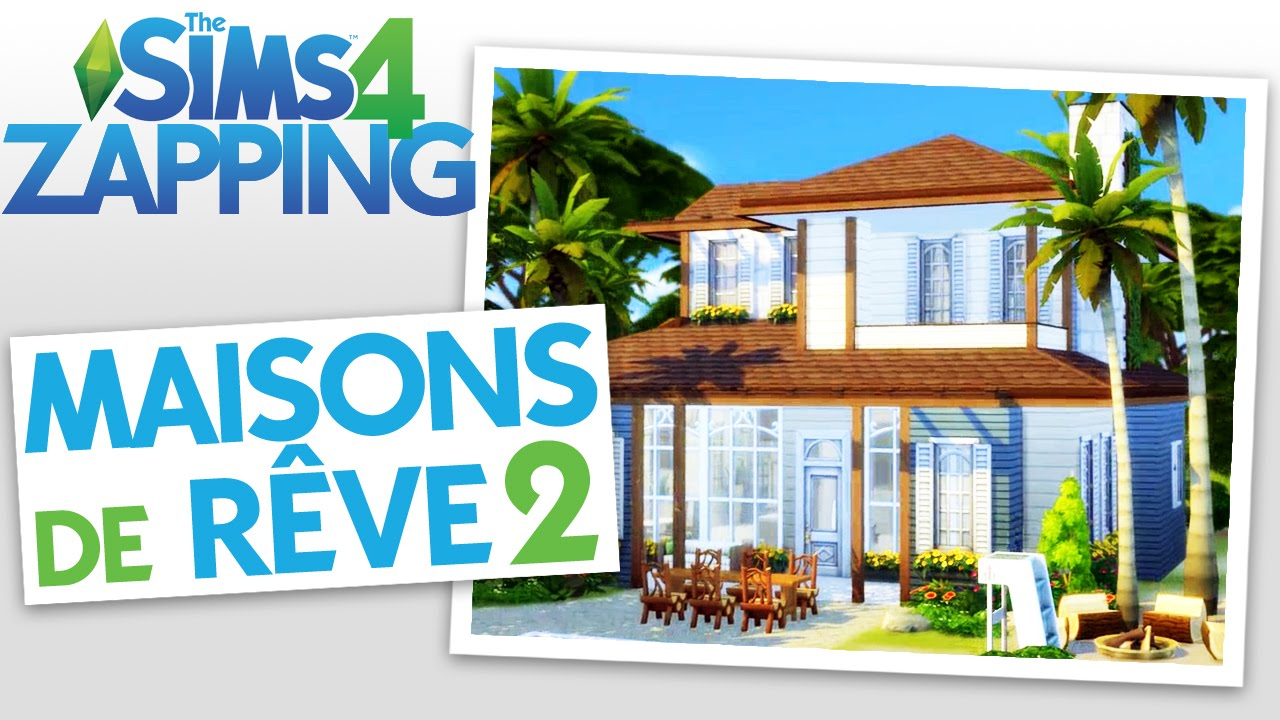 zapping les plus belles maisons sims 2 youtube. Black Bedroom Furniture Sets. Home Design Ideas
