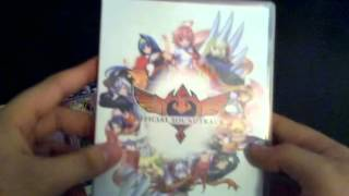 unboxing arcana heart 3 limited edition