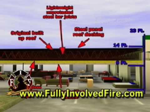 Charleston Fire,Sofa Store Roof Construction