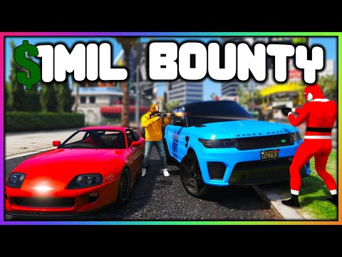 GTA 5 Roleplay - $1MILLION DOLLAR BOUNTY HUNTER | RedlineRP