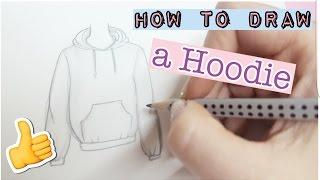 How to draw a hoodie   Pulli malen    Foxy Draws