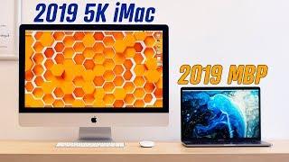 2019 MacBook Pro vs 2019 5K iMac - Best New Mac?