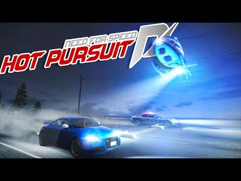 DROPPING SPIKE STRIPS FROM THE SKY! - Need for Speed Hot Pursuit Police Chases and Crashes Gameplay