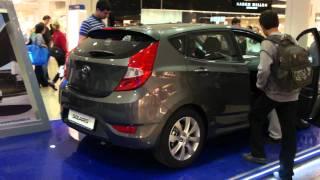 Hyundai Solaris Хэтчбек Hatchback темно-серый HD 1080