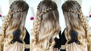 Half Up Half Down Hairstyles | Lace Braid | Braidsandstyles12