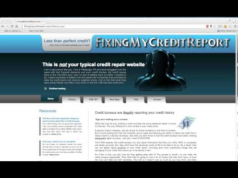 Repair your credit without the monthly fees