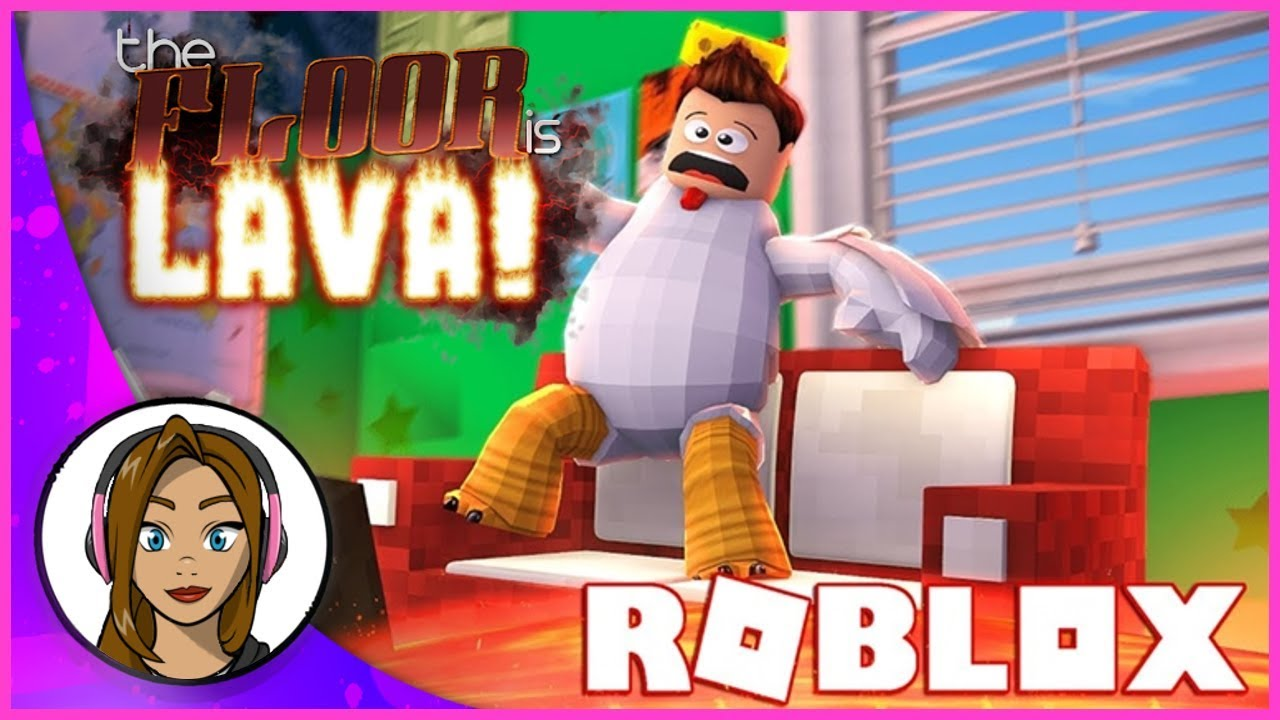 SO HOT! The Floor Is Lava | Roblox Gameplay
