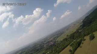 Flug am Innerberg zwischen Müllheim / Badenweiler mit Phantom Zeta FX 61 Teil 1