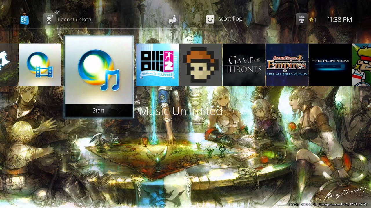 Group of New Ps4 Dynamic Theme