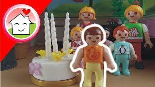 Playmobil Film deutsch Annas Geburstag / Kindergeburtstag von Familie Hauser Kinder Spielzeug Filme