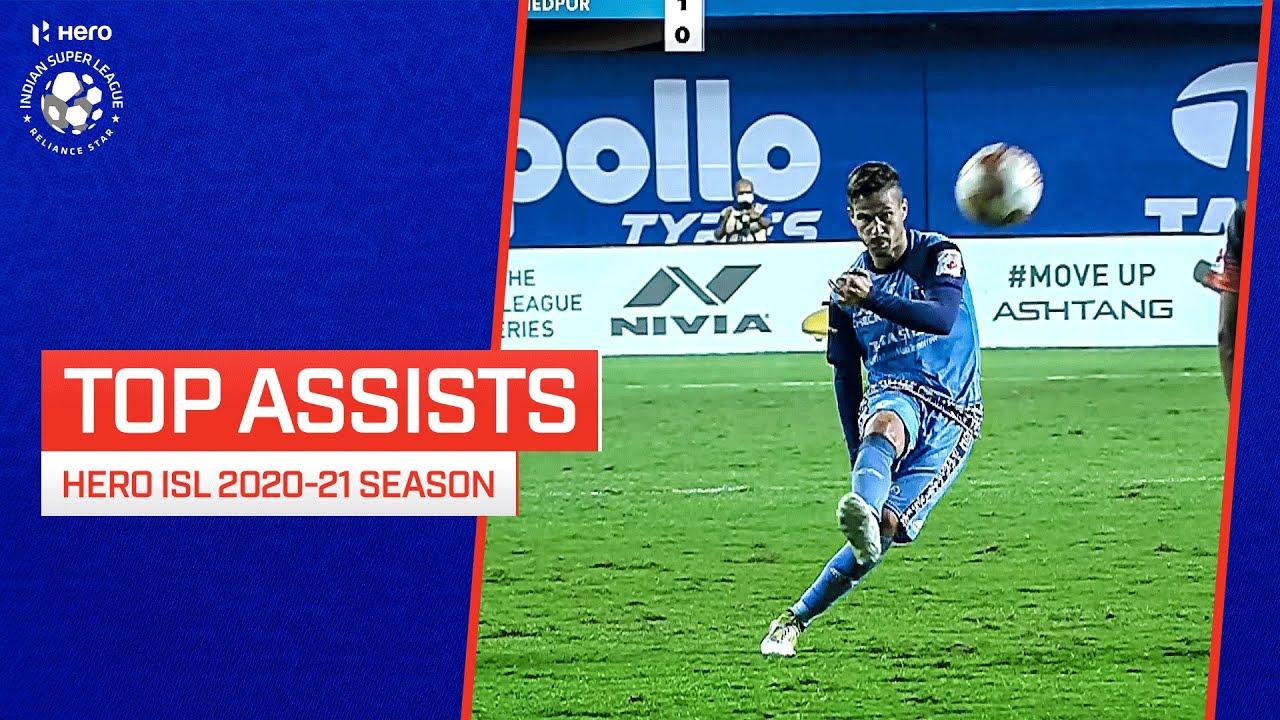 Download Top Assists | Hero ISL 2020-21 season 🤯💥