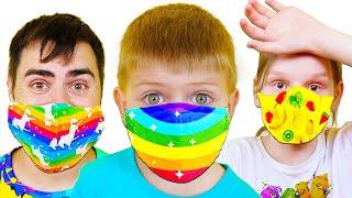 Платоха Моха и детские истории про антивирусные маски и вирусы