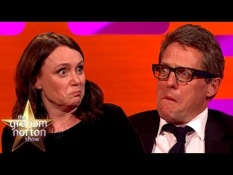 Hugh Grant's Funny Reaction To Tomb Raider Sound Effects  The Graham Norton