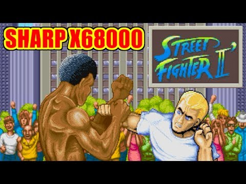 [X68K] Ryu(リュウ) - STREET FIGHTER II DASH [PC]