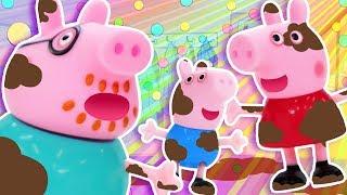 Peppa Pig Baby Shark Song | FunPop