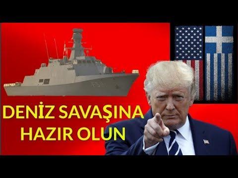 ABD YUNANİSTAN ÜZERİNDEN GELECEK - HERŞEYE HAZIR OLUN ( Türk Donanması Hazır )