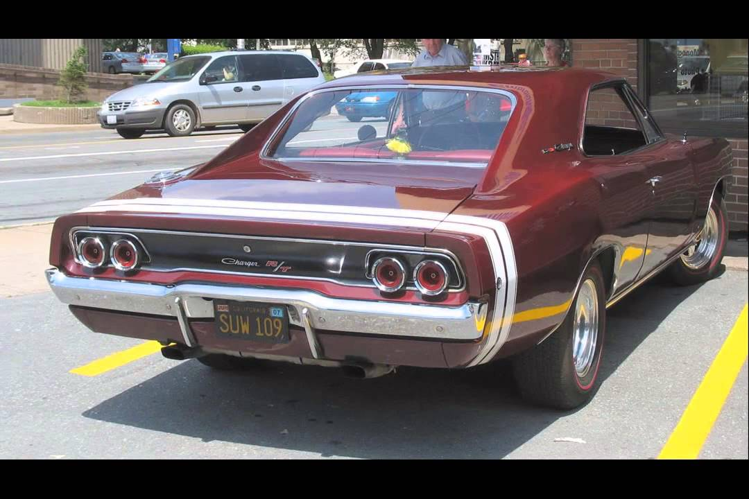 1968 Dodge Charger Rt Youtube