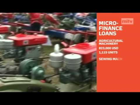 mitv - Poverty Reduction: Microfinance Loans Were Disbursed