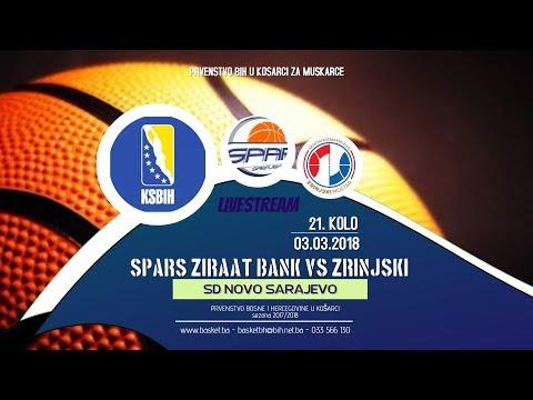 Spars Zirrat Bank vs Zrinjski ◘ 21 kolo ◘ KSBIH ◘ Liga 11 ◘ 2017/2018
