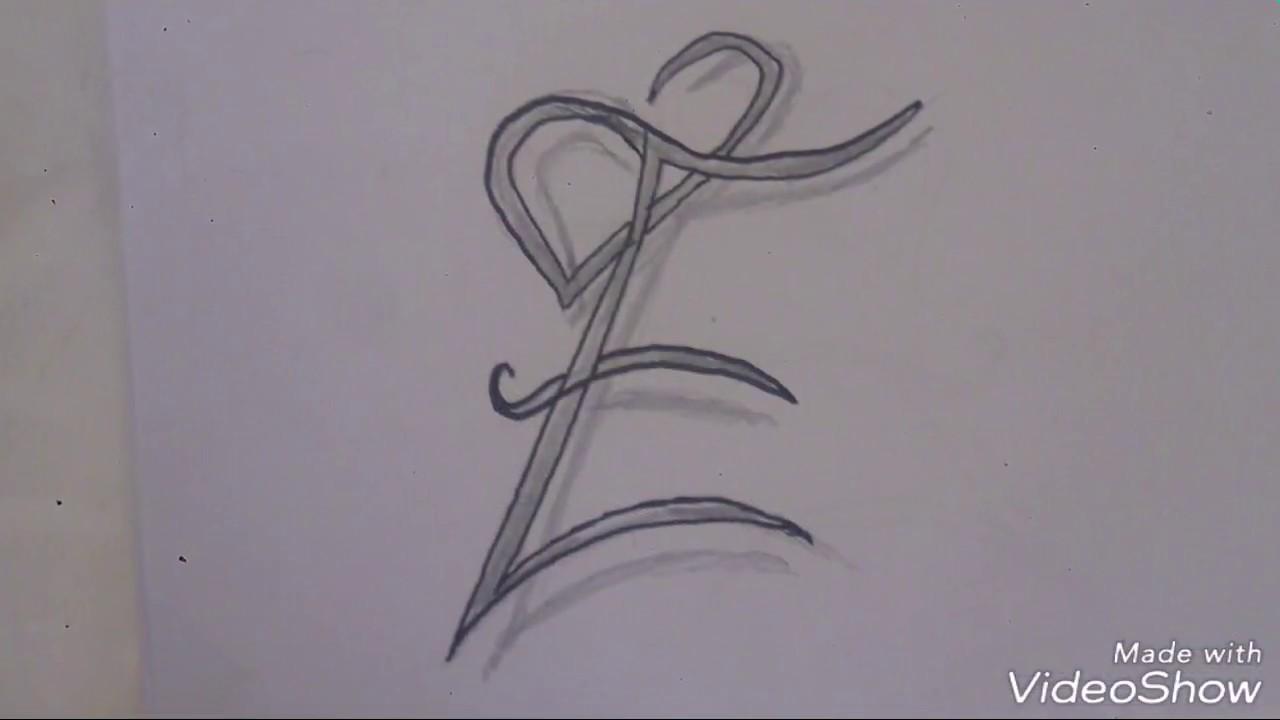 رسم حرف H مع القلب بشكل جمالى وبسيط جرب بنفسك Youtube