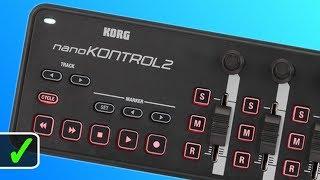 Taking a Closer Look at the KORG nanoKONTROL2