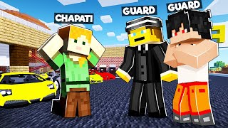 GANG ATTACK ON MY SHOWROOM | MINECRAFT