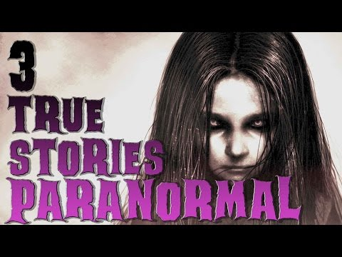 3 True CREEPY Paranormal Stories (with Audio Proof) Ghost Stories