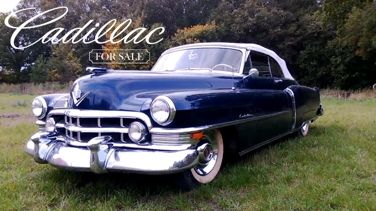 1950 Cadillac Convertible Series 62 Coupe For Sale