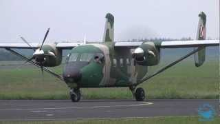 Polish Air Force | PZL M28B/PT Bryza | Start engines & departure - 2012.06.21