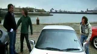 Jeremy Clarkson Gets Hit in the Balls!