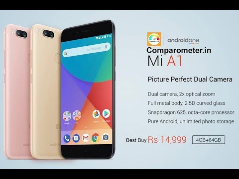 Xiomi A1 Smartphone | Buy with Comparometer | Shop Smart Save More